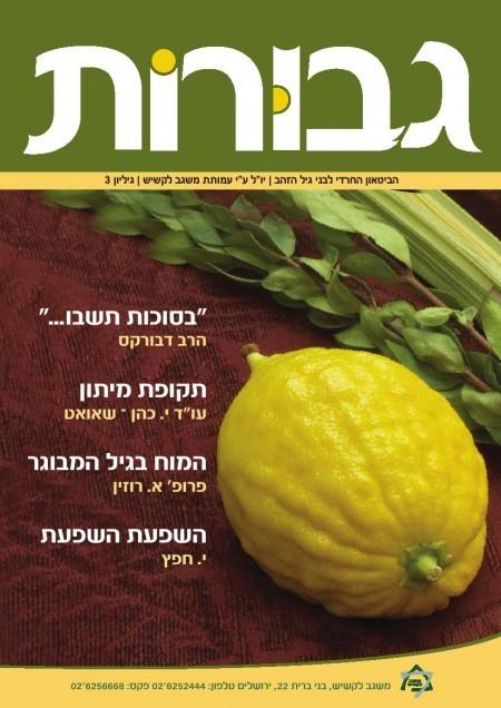 מגזין גבורות מס' 3 (סוכות)