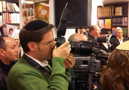 יעקב נחומי, צלם בחדרי חרדים, בפעולה