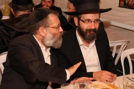 מימין: זלמן רודרמן, דוד רוטנברג