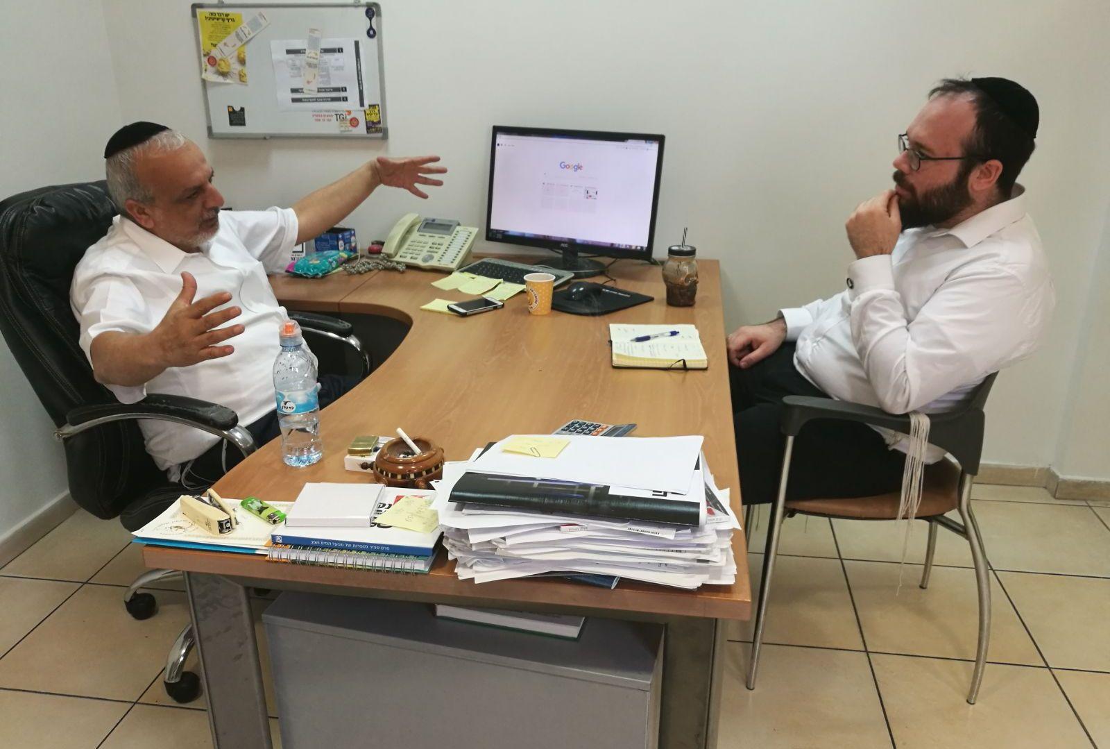 האסטרטג • ראיון עם יגאל רווח 2