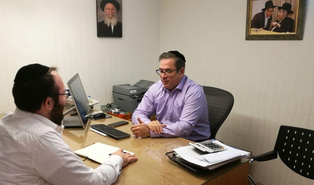 פותר המשברים • ראיון עם שעיה איצקוביץ 1