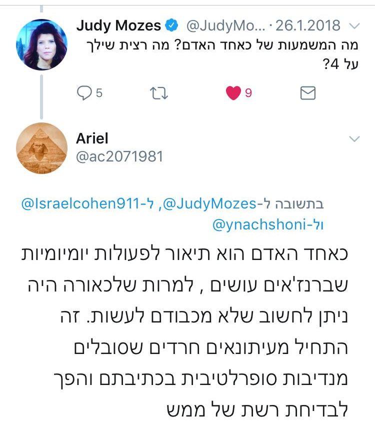 """ישראל כהן מתראיין """"כאחד האדם"""" 5"""