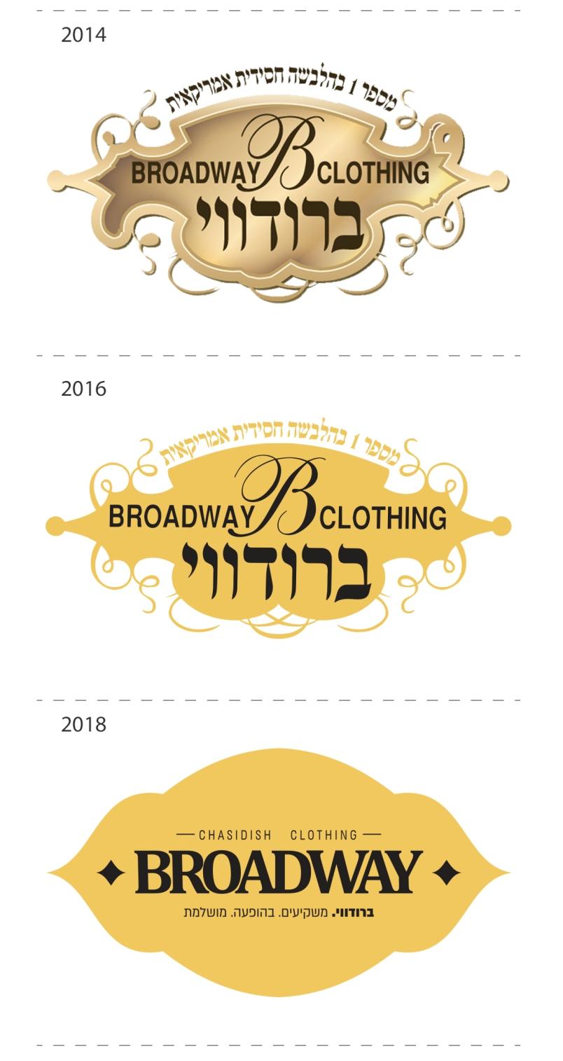 אבולוציה של לוגו: כך נראה המיתוג החדש של ברודווי 1