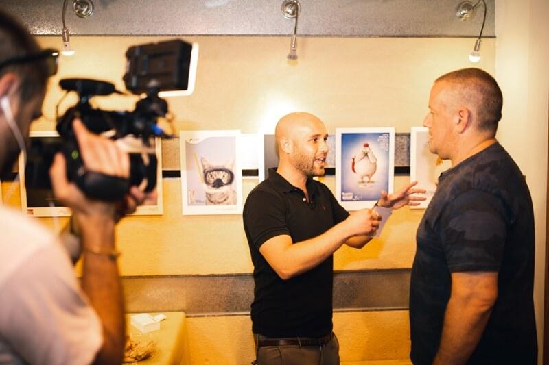 כבוד לפרינט: גלריה מתערוכת הפרינט של CMYK בשיתוף 'הבצפר' 7